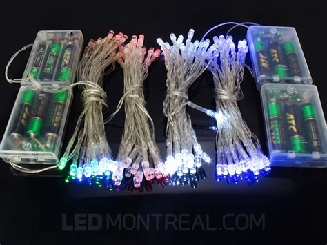 led light strings battery operated light strings 28 images wholesale