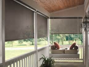Porch Shades And Blinds Inspiring Porch And Sun Room Window Covering Ideas Home