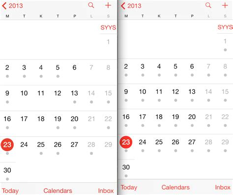Why Calendar Is Different European Week Numbers To Ios Calendar Ask Different