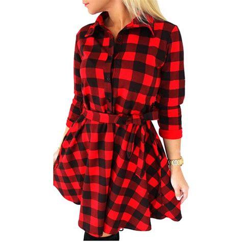 Jumper Check Dress popular plaid jumper dress buy cheap plaid jumper dress