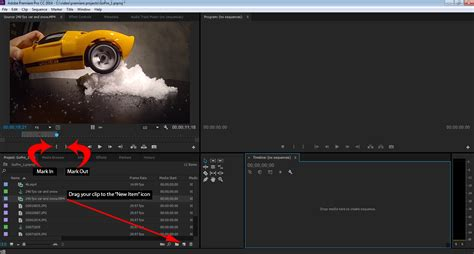adobe premiere pro gopro slowing down high frame rate gopro video
