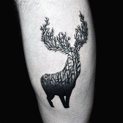 elk antler tattoo designs 70 antler designs for cool branched horn ink