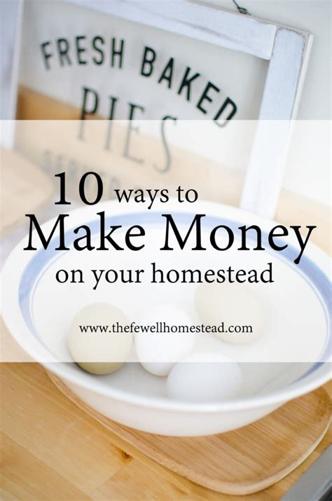 10 Ways To Make Money While Out Of Work by 10 Ways To Make Money On Your Homestead Fewell