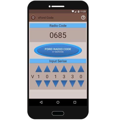 Ford Radio Code For V Series Generator Free Obdhightech
