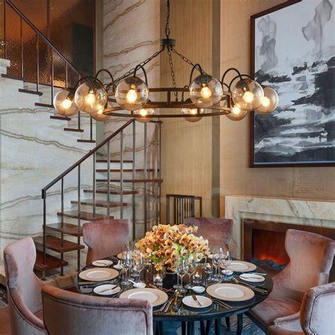 industrial style steel lighting living room study dining