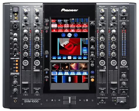 table de mixage pioneer svm 1000 4 channel audio and mixer discontinued jsfrance