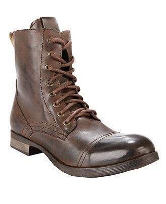 Sepatu Murah Bradleys Erol Boot Brown Up Leather Size 39 43 up your closet with the rugged flair of these distressed leather cap toe s boots from