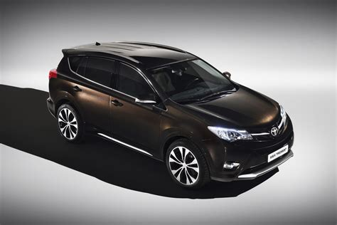 Toyota gets tough luxurious with new rav4 concepts autoevolution