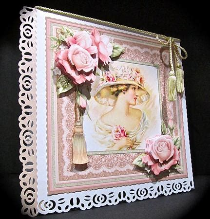 Decoupage Kits Sale - vintage 8x8 mini kit decoupage cup518318