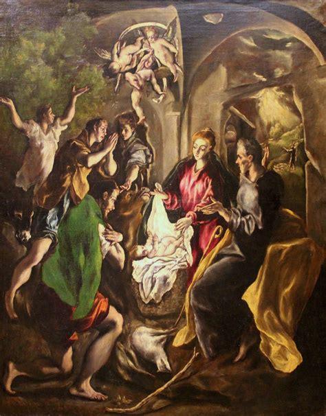 imagenes de los pastores en el nacimiento de jesus archivo la adoraci 243 n de los pastores de el greco museo