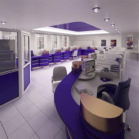 bank interior 3d bank interior furniture