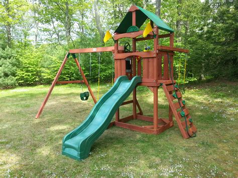 Backyard Playset Ideas Exterior Traditional Wood Gorilla Playset Ideas For Your