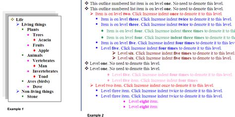 format html number adding bullets and numbering numbering headings