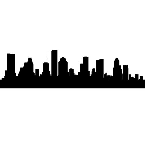 houston texas skyline decals wall decor houston texas