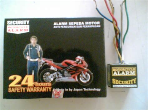 Alarm Motor Bandung jaya sakti agency bandung alarm motor