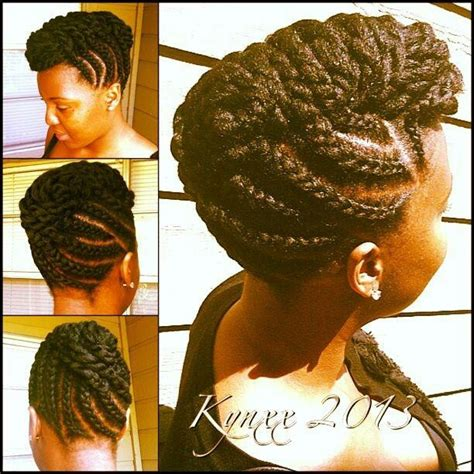 Jumbo Braid Updo | jumbo braided updo hair styles pinterest