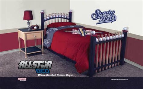 baseball beds baseball bed frame bed frame sports theme baseball