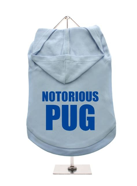 notorious pug notorious pug unisex hoodie available in 9 colours i pugs