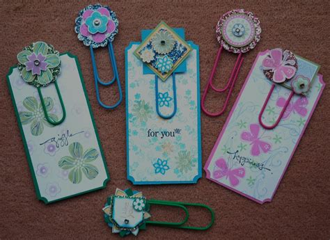 How To Make Paper Clip Bookmark - paperclip bookmarks arts crafts