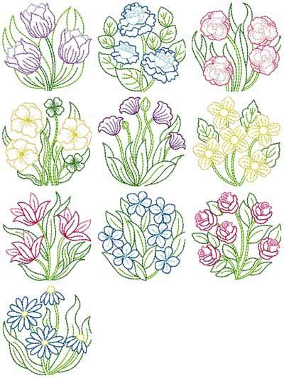 design pattern works inc 599 best flower embroidery patterns images on pinterest