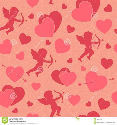 valentine pattern vector valentine day seamless romantic pattern royalty free stock