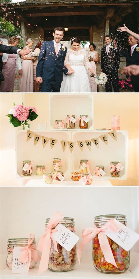 blush pink and gold glitter themed wedding at the rectory hotel with in bespoke gown by