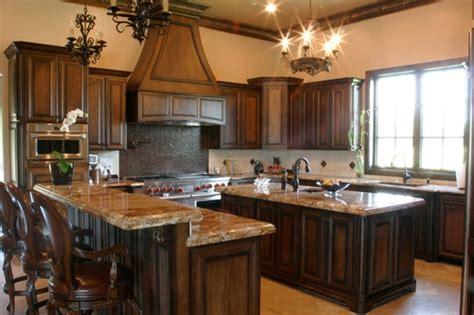 kitchen cabinet stain ideas 10 dise 241 os de cocinas con muebles de madera