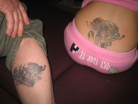 father daughter tattoo designs 50 awesome matching tattoos amazing ideas