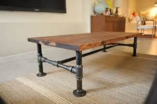 diy industrial coffee table the locker