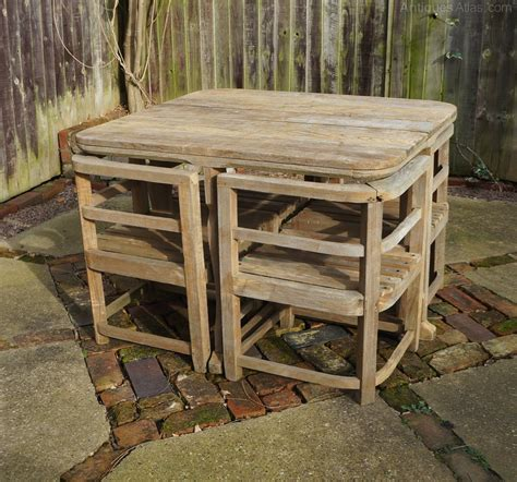 antiques atlas heals c1930s teak garden table chairs