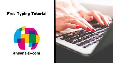 tutorial typing online free typing tutorial online video ansonalex com