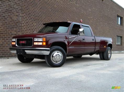 electric and cars manual 1997 gmc 3500 club coupe navigation system 1997 gmc sierra 3500 sle crew cab 4x4 dually in dark hunt club red metallic 029682 all