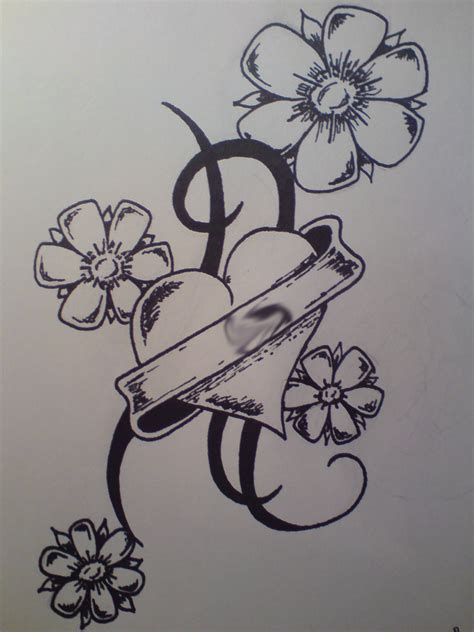 heartbeat tattoo drawing heart tribal tattoo drawing by koifishartist on deviantart