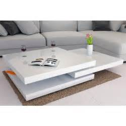 table basse blanc laqu cdiscount cheap table basse table