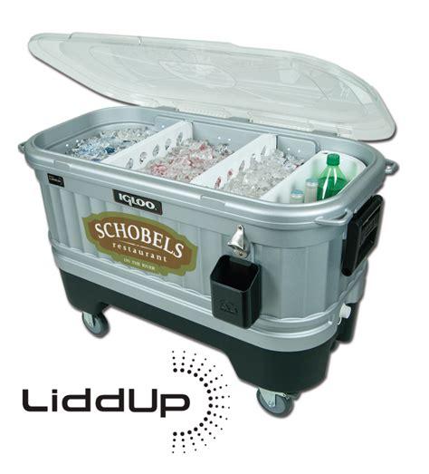 Handmade Coolers - custom bar cooler
