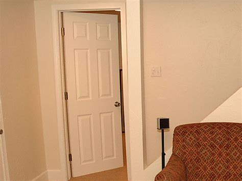 how to install a bedroom door how to install a pre hung door how tos diy