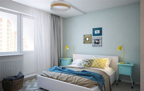 light green bedroom interior design ideas