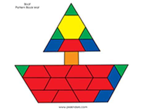 color pattern block templates transportation pattern block mats prekinders