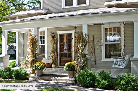 decorate front porch ideas for fall front porch decorating