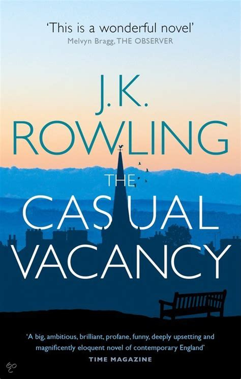 Jk Rowling The Casual Vacancy bol the casual vacancy j k rowling j k rowling 9780751552867 boeken