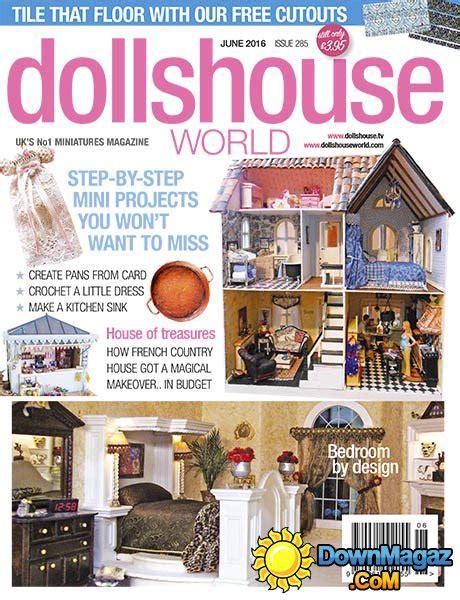 dolls house world magazine dolls house world june 2016 187 download pdf magazines magazines commumity