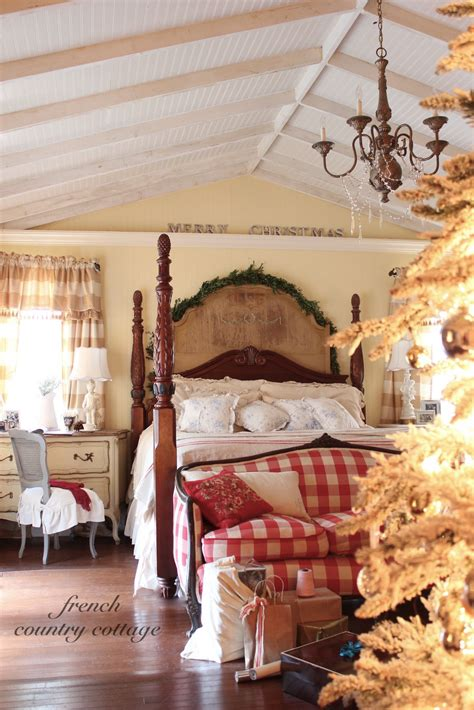 christmas bedrooms december 2012 french country cottage