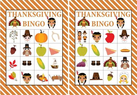 free printable thanksgiving picture bingo cards free printable thanksgiving bingo game kids thanksgiving
