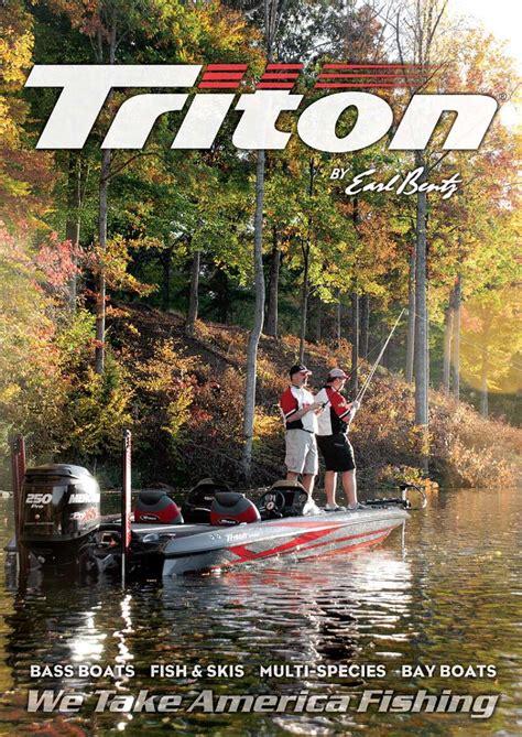 triton boats catalog 2013 triton boats freshwater catalog by triton boats issuu