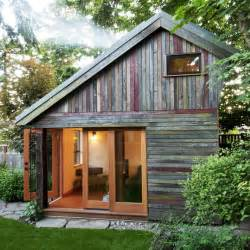 small barn houses rise over run backyard house tiny house blog