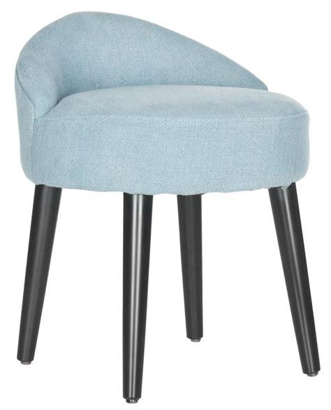 Vanity Stool Chair by Safavieh Mcr4693a Brinda Vanity Chair Light Blue 358