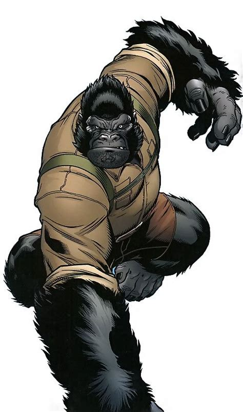gorilla man marvel comics agents  atlas ken hale