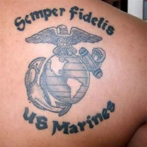 semper fi tattoos semper fidelis marine corps tattooblend