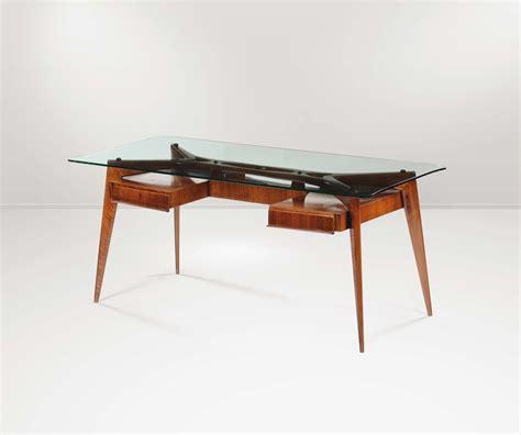 scrivania cristallo scrivania con struttura in legno piano in cristallo e