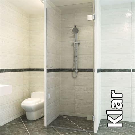 bodengleiche dusche mit wegklappbaren glast ren fishzero dusche gemauert mit glas verschiedene